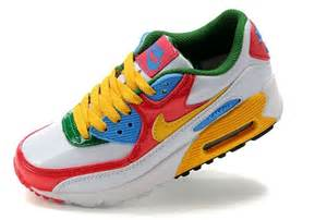 colorful air max running shoes nike pink s air max 90 white nike air