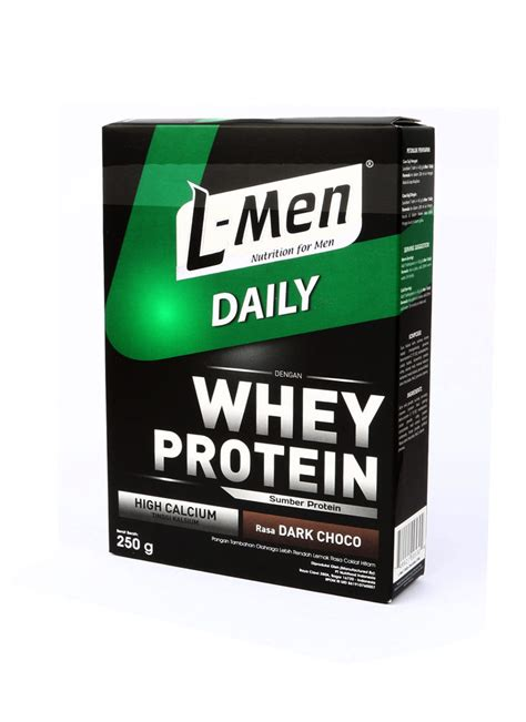Lmen Whey Protein L Bubuk Hi Protein For Chocolate Box