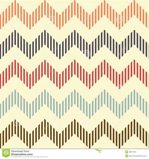 chevron seamless pattern background retro vintage seamless geometric wavy pattern stock vector image 43611307