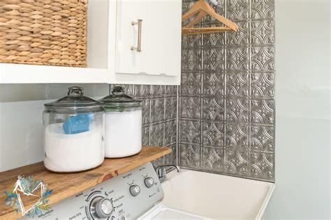 utility sink backsplash laundry room makeover day 2 utility sink gets some