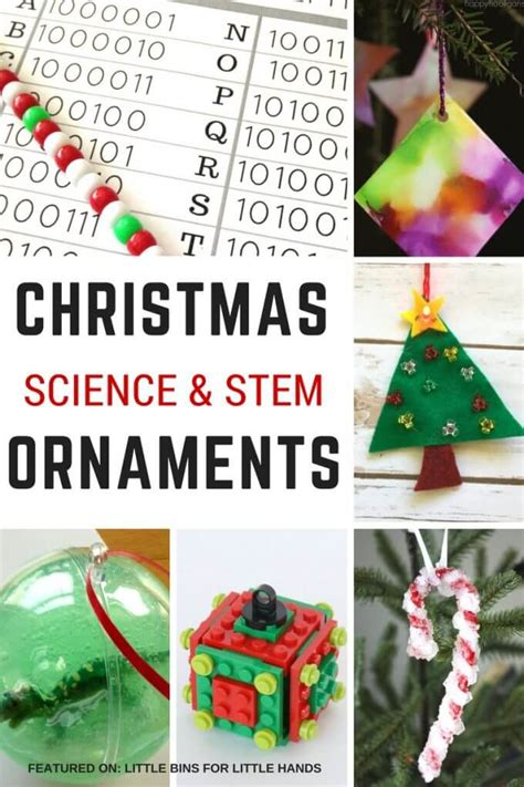 christmas ornament math project 3d tree steam craft and decoration for