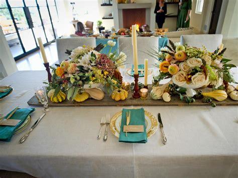 thanksgiving table setting ideas hgtv
