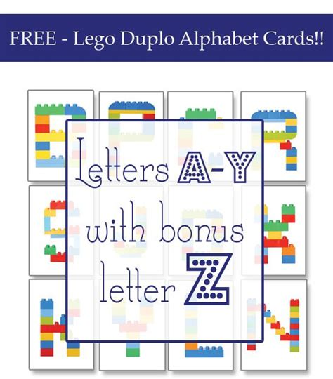 printable lego letters 18 best images about teachables legos on pinterest
