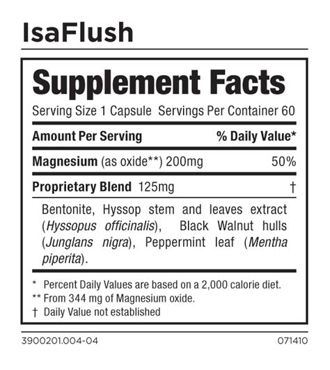 Isagenix Detox Ingredients by Buy Isagenix Isaflush Cleansing Herbs Improved Regularity
