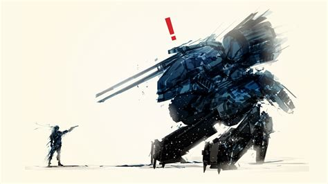 metal gear rex solid snake duel wallpaper digitalart io