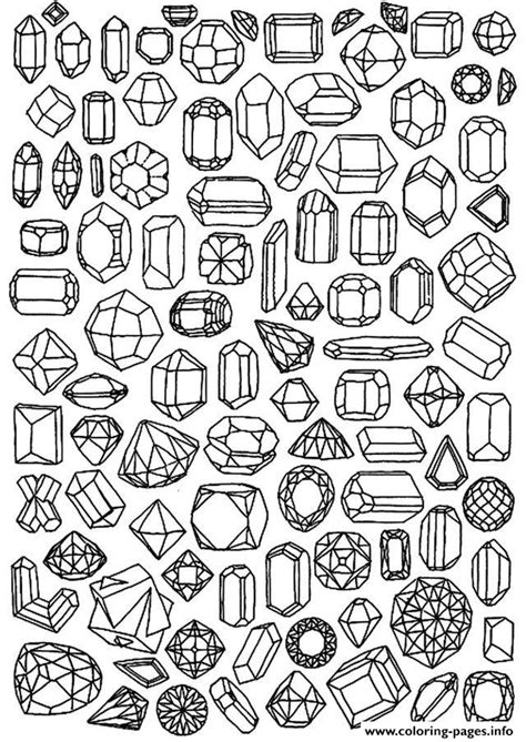 anti stress coloring pages free printable zen anti stress to print diamonds coloring pages printable