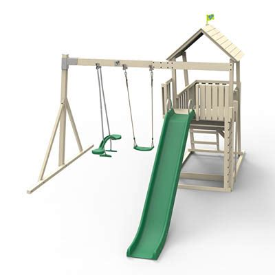 swing and slide swing seat kingswood tower swing arm rapide slide skyride and
