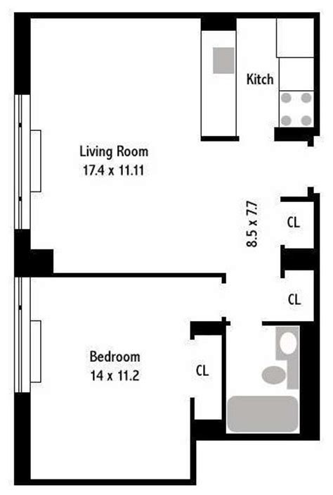 floor plan for 600 sq ft apartment converting a 600 sq ft apartment into a 2 bedroom apartment