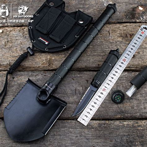 Multifunctional Edc Axe Hammer Survival Tools outdoor cing tool multifunctional sapper shovel axe saw survival gear survival shovel