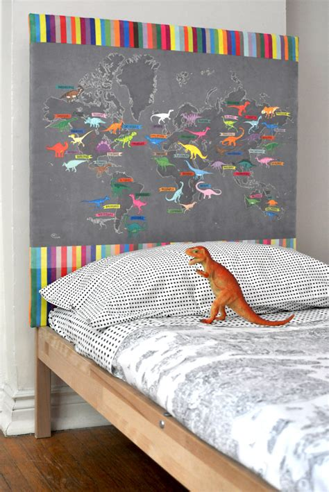 dinosaur headboard fall home dec upholstery projects spoonflower blog