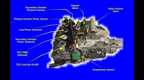 cvt transmission valve body youtube