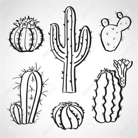 resultado de imagen para cactus dibujo doodles