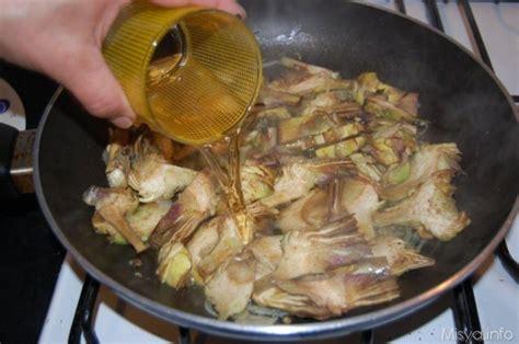 come cucinare pasta e carciofi 187 pasta con i carciofi ricetta pasta con i carciofi di misya