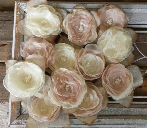 Wedding DIY Fabric Flowers For Decorations Or DIY Bouquet
