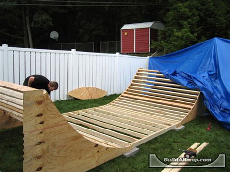 building a halfpipe in your backyard skateboard mini halfpipe quarter pipe r plans r