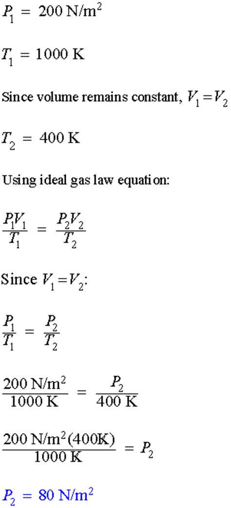 Word Problems: Ideal Gas Law - math problem solving