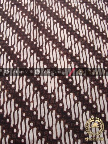 Batik Klasik jual batik klasik jogja motif parang klithik thebatik co id