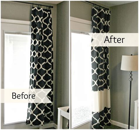 how to make curtains best 25 curtain length ideas on window