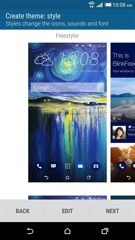 download install htc themes on blinkfeed launcher sense blinkfeed launcher becomes htc sense home comes with