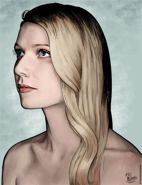 colored ink gwyneth paltrow colored ink drawing