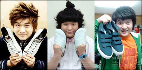 eng sub 061231 ep09 super junior kim heechul pic kibum leeteuk donghae and shindong s skono shoes