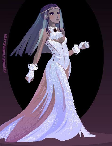 Wedding dress  Raven by Ceshira on DeviantArt