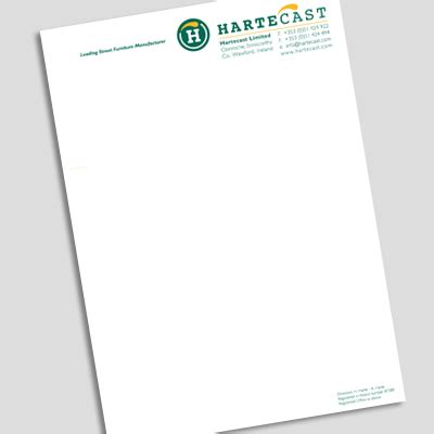 Firm Letterhead Paper Professional Letterhead Paper From Onlineprinting Ie 056 7765902 Or Email Info Onlineprinting Ie