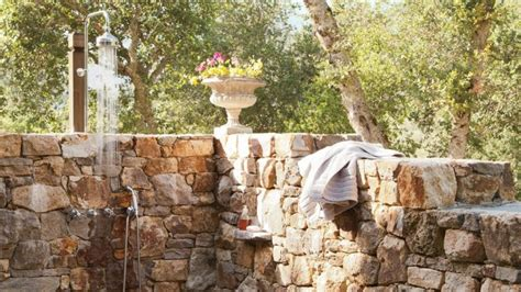 20 irresistible outdoor shower designs for your garden 20 of the most amazing outdoor shower designs