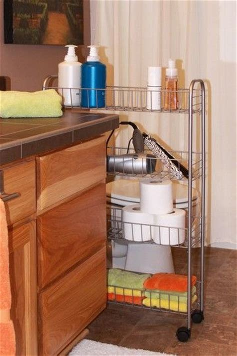 small bathroom cart wood storage bathroom cart and craft rooms on pinterest