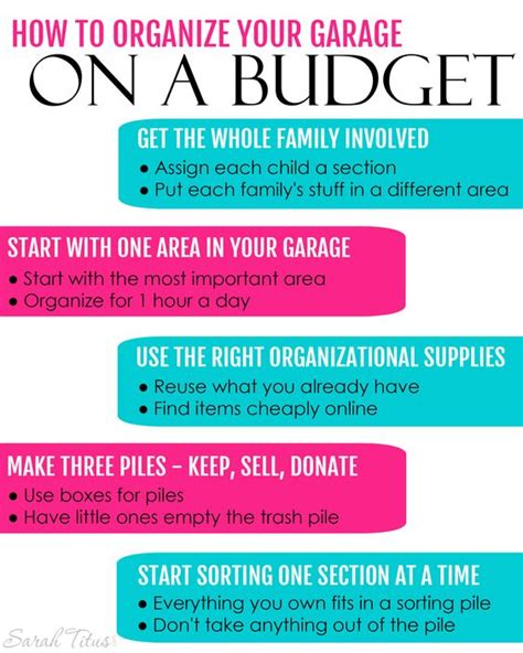 how to organize your garage on a budget garage how to organize and how to do that on