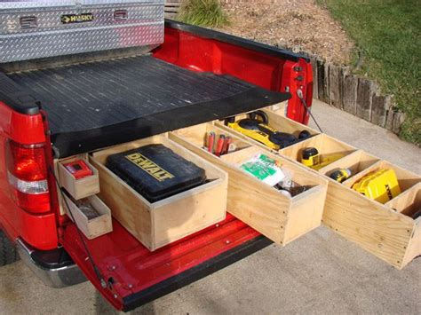 homemade truck box vehicles contractor talk