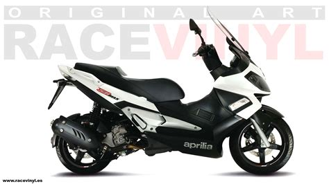 Wallpaper Sticker 125 aprilia srmax gallery racevinyl europe