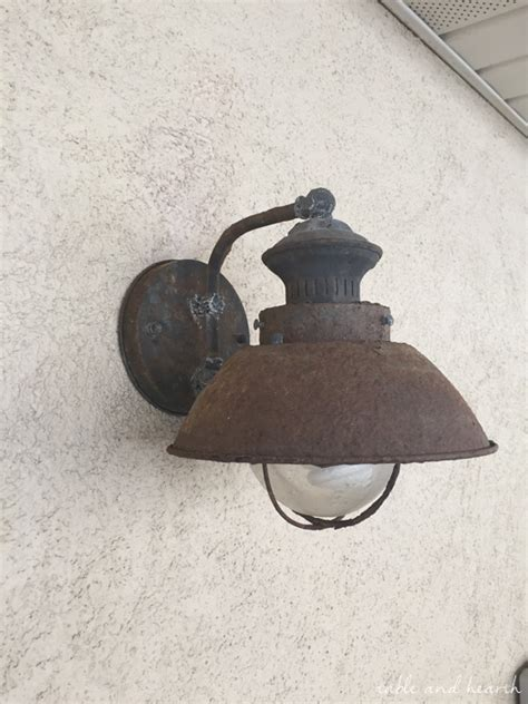 rust proof outdoor lighting our new nautical rust proof outdoor light fixtures table and hearth