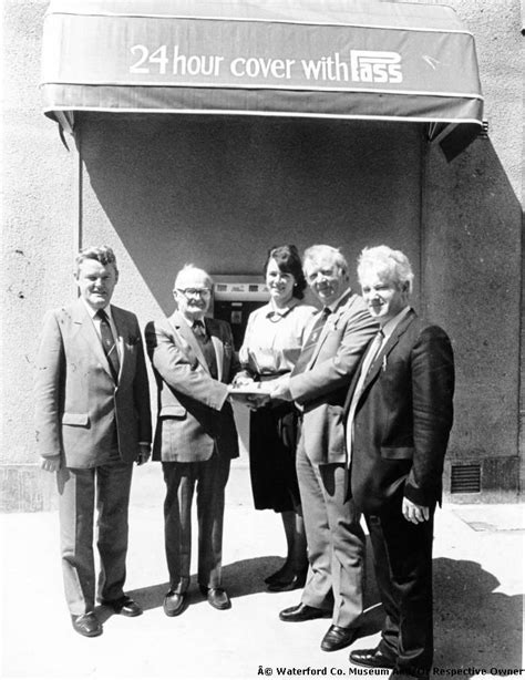bank of ireland opening photo archive waterford county museum