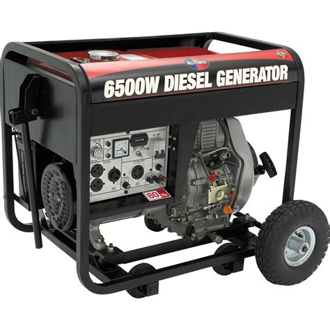 all power america 6500w diesel generator w electric start