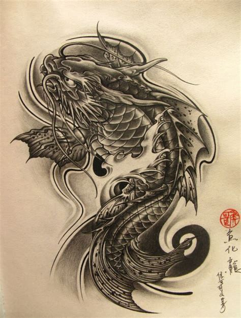 tattoo oriental koi 2008 chinese fish tattoo design for girls tattoo for girls