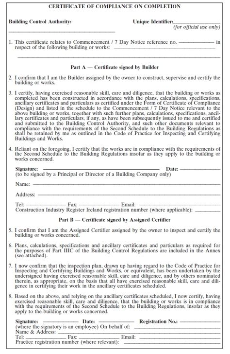design and build contract ireland building control regulations 1997