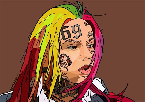6ix9ine drawing 6ix9ine cartoon www imagenesmy