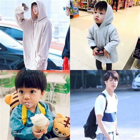 bts jin father bts as parents army s amino