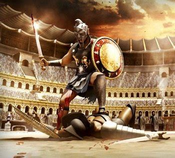 gladiator film lion what would a teenager s life be like in ancient rome if he