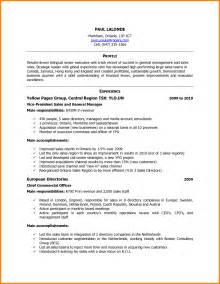 Resume Sle For Canada by 9 Canadian Resume Template Cashier Resumes