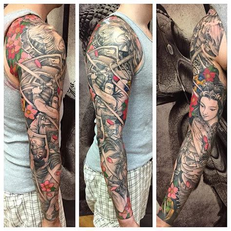 omkara tattoo inspired japanese sleeve update nha nguyen omkara