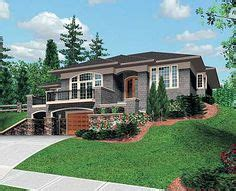 Narrow Lot House Plans With Basement by Sloped Lot Plans On Pinterest