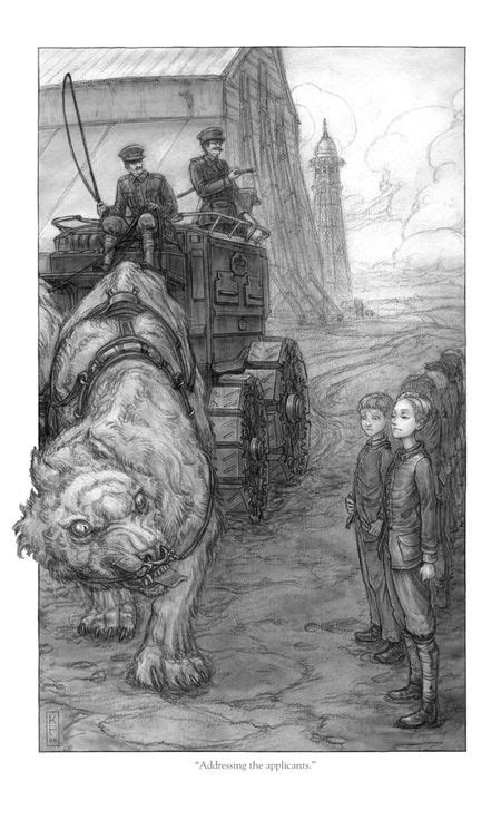 Illustration from Scott Westerfeld's Leviathan trilogy