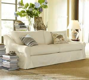 pottery barn sofa windsor slipcovered sofa pottery barn