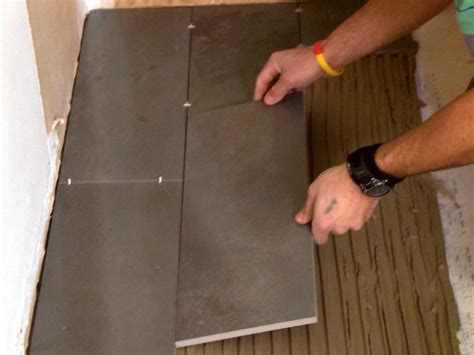 how to install tile in a bathroom floor tile installation houses flooring picture ideas