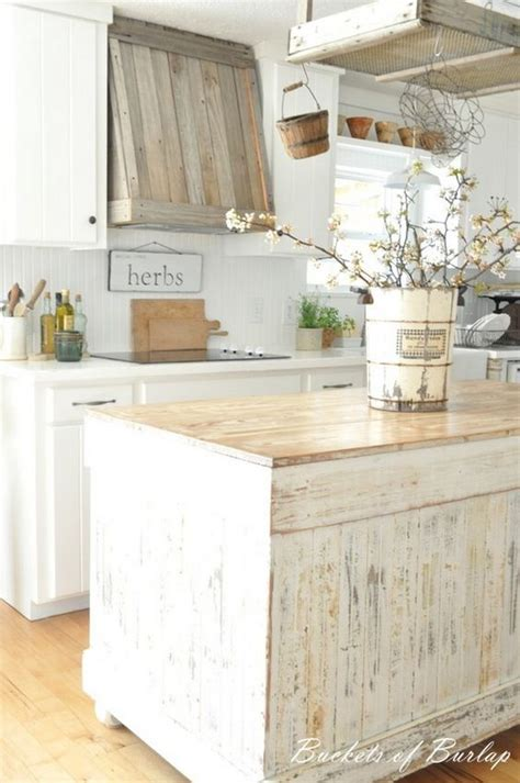 50 sweet shabby chic kitchen ideas 2018