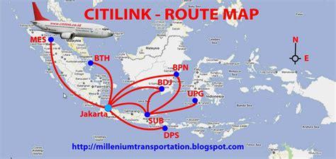 Routes Map Citilink Air Routes Map | routes map citilink air routes map