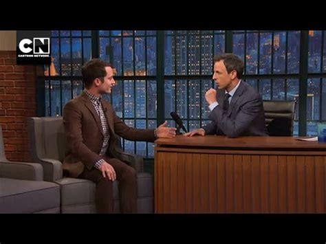 elijah wood over the garden wall elijah wood with seth meyers i over the garden wall i