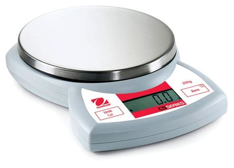 Ohaus Cs Series Portable Compact Scale Model Cs 200 ohaus cs series compact scales balances scales and